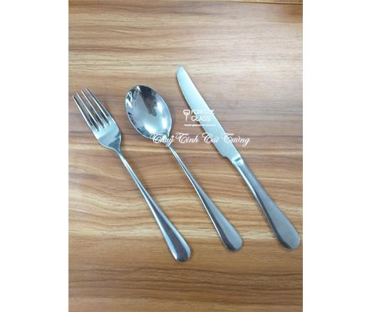 Bộ dao dĩa thìa (cá trắm) (10 bộ)