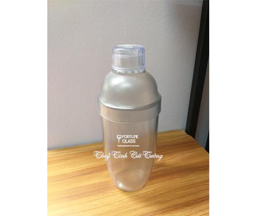 Shaker nhựa vạch mờ 700ml