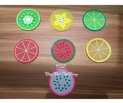 Lót cốc hoa quả (1c)