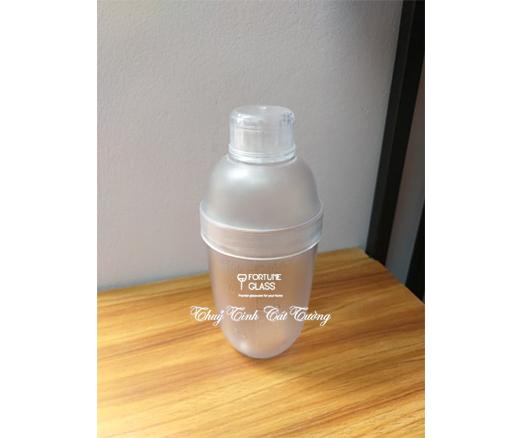 Shaker nhựa vạch mờ 550ml