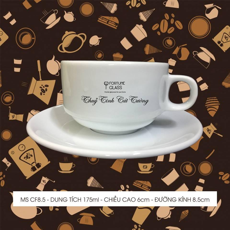 Tách cafe 8.5 + đĩa 8.5