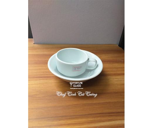 Bát sứ tròn ngâm cafe