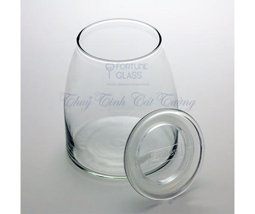 Lọ Vibe Jar With Lid (1000ml) (1 cái) - 503 - TH Mỹ