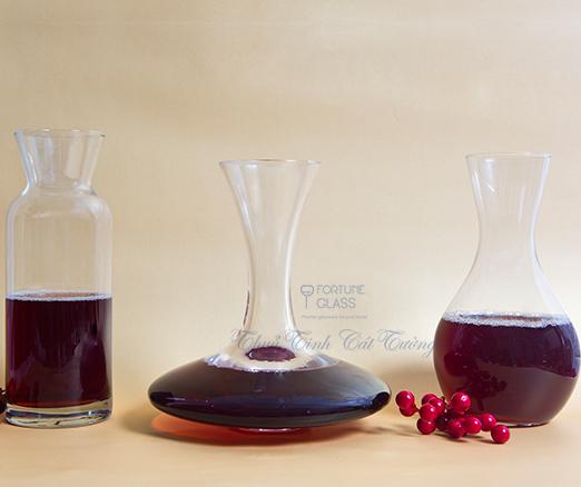 Lọ đựng rượu vang / Decanter 750 ml- 19773 - SX Thổ Nhĩ Kỳ