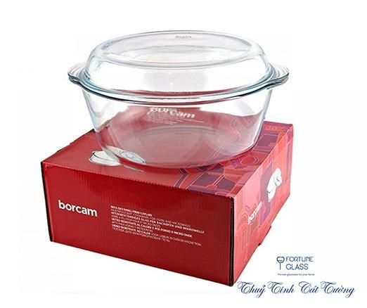 Tô chịu nhiệt cao cấp Borcam (3000 ml) - 59013 - SX Thổ Nhĩ Kỳ