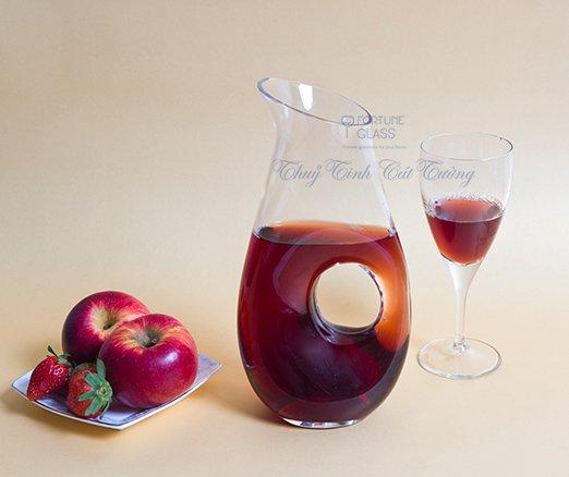 Lọ đựng rượu vang / Decanter 750 ml - 20932 - SX Thổ Nhĩ Kỳ