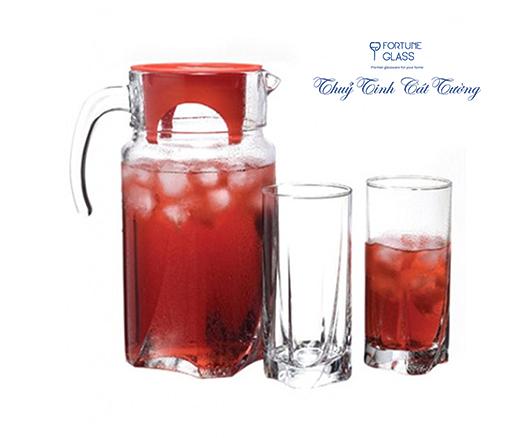 Bộ Bình Cốc Luna (1 bình + 6 cốc) 1750ml - 97440 - SX Thổ Nhĩ Kỳ