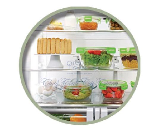 Hộp đựng thức ăn có khóa (1050ml) - 53532 - SX Thổ Nhĩ Kỳ
