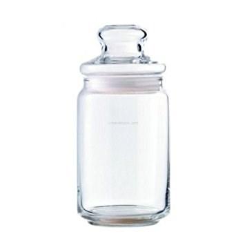 Lọ đường (Nắp thủy tinh + nhựa) (650ml) (Bộ 6c) - B02523 - SX Thái Lan