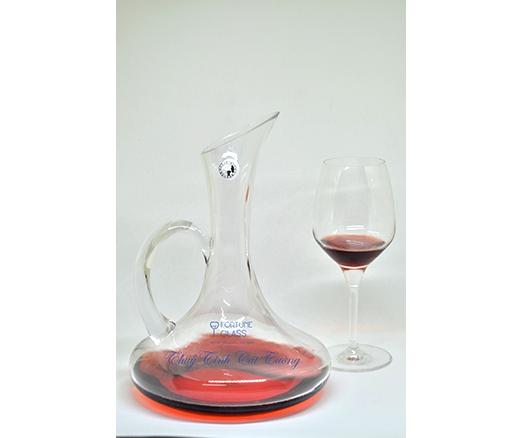Bình đựng rượu tay trơn / Decanter 1680ml - CH004 - SX Trung Quốc