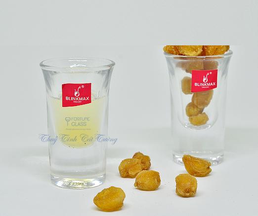 Ly uống rượu mạnh 25 ml (Bộ 12c) - 1504 - SX Trung Quốc
