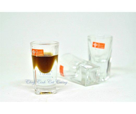 Ly uống rượu mạnh 20 ml (Bộ 6c) - CH008 - SX Trung Quốc
