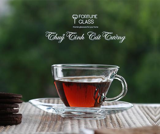 Cốc cafe (Bộ 6c + 6d) 230ml - 98396 - SX Thổ Nhĩ Kỳ