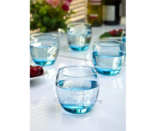 Cốc Bầu Lùn Whisky (xanh dương) (Bộ 6c) 340ml - 41010 - SX Thổ Nhĩ Kỳ