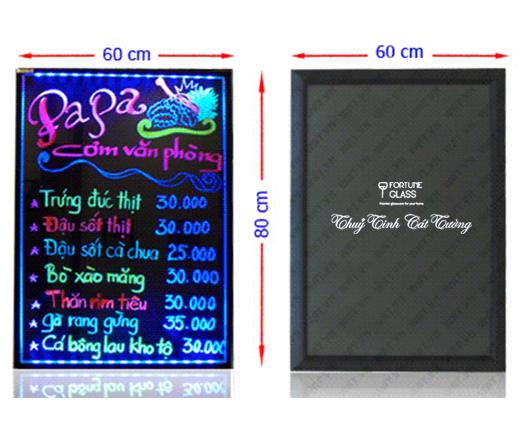 Bảng led quảng cáo to (60cm x 80cm)