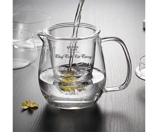 Ấm ủ trà tròn (700 ml) (1 c)- AUTT-01 - SX Trung Quốc