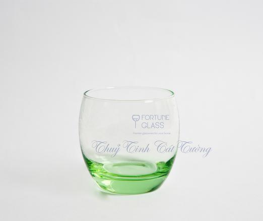 Cốc Bầu Lùn Whisky (xanh lá) (Bộ 6c) 340ml - 41010 - SX Thổ Nhĩ Kỳ