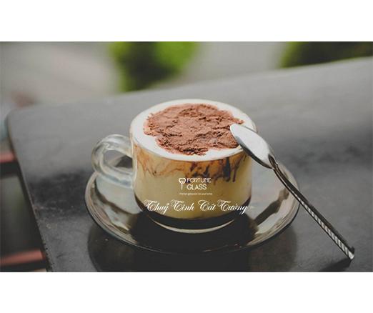 Bộ đĩa + tách cafe (Bộ 6c + 6d) - UG 324 + UG 325- 190ml- SX Thái Lan