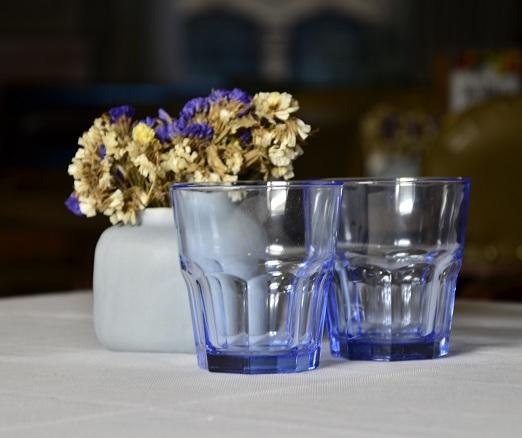 Cốc Whisky Casablanca (Bộ 6c) (xanh lam) 269ml - 52705 - SX Thổ Nhĩ Kỳ