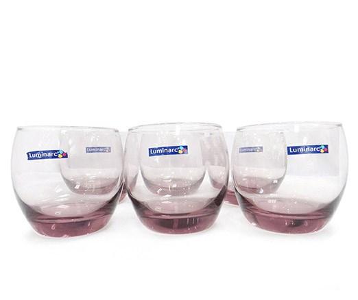 Cốc Luminarc Salto (màu hồng) (Bộ 6c) 320ml - J5386 - TH Pháp
