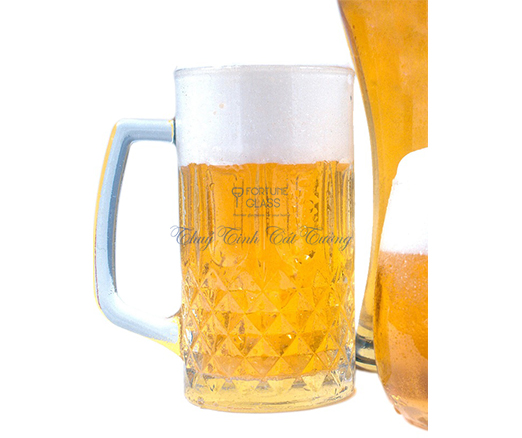 Cốc quai bia (bộ 6c) 570 ml - ZB03 - 400 - SX Trung Quốc