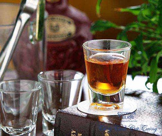 Cốc rượu Shot Glass Solo (Bộ 12c) 60ml - P00110 - SX Thái Lan
