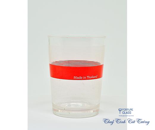 Cốc kẻ (Bộ 6c) 230 ml- UG 101 - SX Thái Lan