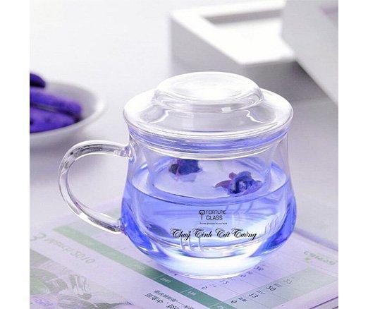 Cốc ủ trà vuông (350 ml) (1 c)- UTV-01 - SX Trung Quốc