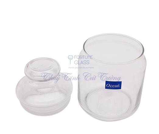 Lọ đựng gia vị 500 ml (Nắp thủy tinh) (Bộ 6c) - B02517 - SX Thái Lan