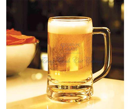 Cốc quai kẻ Munich Beer Mug (355ml) (Bộ 6c) - P00840 - SX Thái Lan