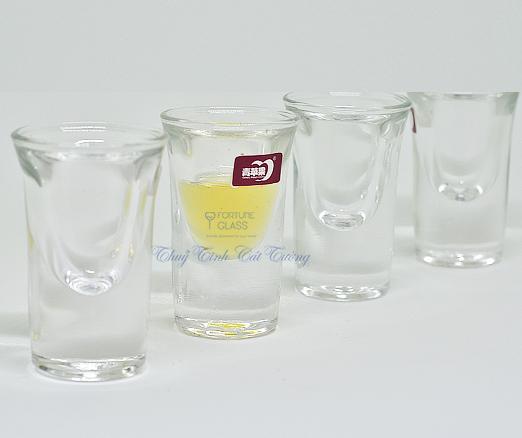Ly uống rượu mạnh 25 ml (Bộ 6c) - 3001 - SX Trung Quốc