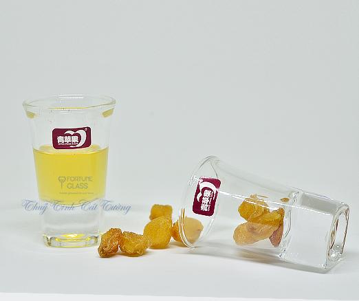 Ly uống rượu mạnh 35 ml (Bộ 6c) - 3002 - SX Trung Quốc