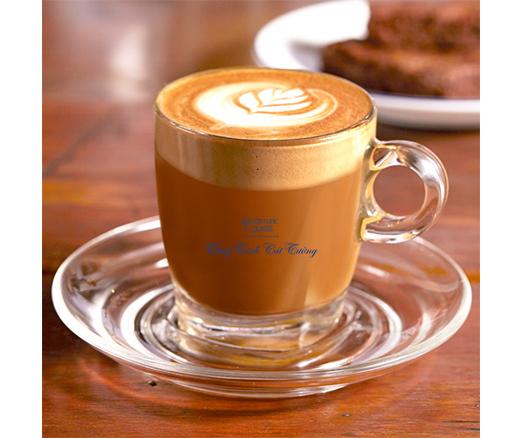 Bộ đĩa + tách cafe Cappuccino (Bộ 6c + 6d) - P02441 + P02471 - SX Thái Lan (Tạm Hết)