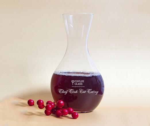 Lọ đựng rượu vang / Decanter 1250ml - PAS110 - SX Thổ Nhĩ Kỳ